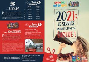 2021 : Le service enfance jeunesse évolue !